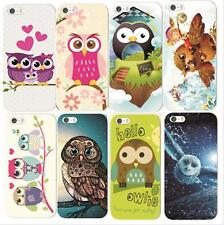 Fashion Owl Pattern Hard Skin Case Back Cover For Apple IPhone 5/5s/6 Hot Sales