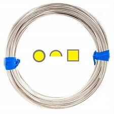 Silver-Filled 1/10 Wire Round Square Half Round 10 12 14 16 18 20 21 22 24 26 Ga