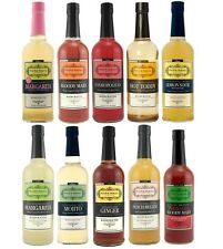 Powell & Mahoney Cocktail Mixers - 750 ml - 10 Flavors - Bar/Pub Drink Mixology
