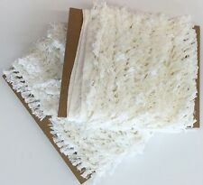 Ivory Pearl Tassel Cotton Two Inch Fringe Trim Upholstery Pillows Home Decor