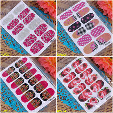 Foils Nail Stickers Decal Design Manicure Tips Wraps DIY Decoration Nail Art New