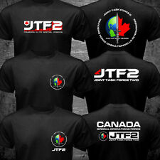 New Canada Elite Special Operations Force JTF2 Joint Task Force 2 Logo T shirt