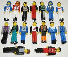 LEGO TECHNIC FIGURES RACE CAR DRIVERS YOU PICK WHAT FIGS YOU WANT