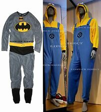 DESPICABLE ME MINIONS Men Onesie Lounge Suit Costume All-In-One (XS-XXL) Primark