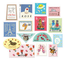7321 Design Stamp Sticker Ver.4 -Type B- Scrapbooking Embellishments x 2 Sheets