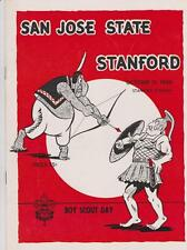 Oct. 31, 1959 San Jose State vs. Stanford Football Program