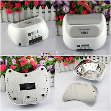 36W Automatic LCD Screen Hand Foot LED Nail Curing Lamp UV Gel Dryer Light Timer