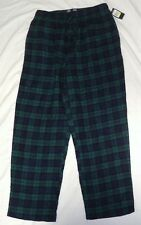 Men's Nautica NWT Red Plaid Flannel Lounge Pants Size Large