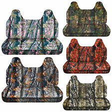 CC  camouflage bench seat cover with molded headrest 24 colors select color /car