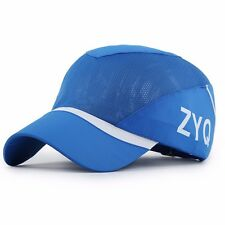 Summer Men Women Tennis Golf Ball Sport Cap Outdoor Adjustable Casual Mesh Hats