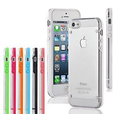 2x Slim Case Transparent Crystal Clear Hard TPU Cover for Apple iPhone 4 4s