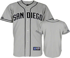 NWT Majestic San Diego Padres MLB Youth Gray Replica Jersey