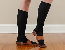 COPPER Compression Socks Miracle Plantar Support Pain Relief (S~XL) Unisex