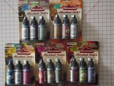 TIM HOLTZ ADIRONDACK ALCOHOL INK NIP 3 BOTTLE PER PACK 1 OF 5 SCRAPBOOKING CRAFT