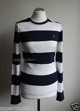 RALPH LAUREN SPORT GREW STR.  Damen Shirt stripe- dark blue Gr. M L  XL  Neu