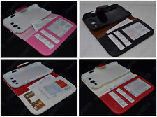 Multi Color Leather Flip Case HOLDER WALLET For Samsung Galaxy Grand Duos I9082