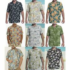 NWT Margaritaville Men's Rayon Short Sleeve BBQ Beach Shirt in 4 Pattern M-XXL