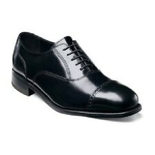 Florsheim Lexington Cap Toe  mens shoes Black leather lace up dressy 17067-01