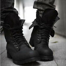 2 Colors Retro Combat boots Winter England-style fashionable Men's short shoes