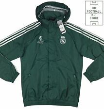 Real Madrid All Weather Jacket - Official Adidas Champions League - All Sizes