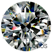 CUBIC ZIRCONIA SUPER QUUALITY LOOSE ROUND STONE 7 STARS CLEAR CZ USA SHIPPER