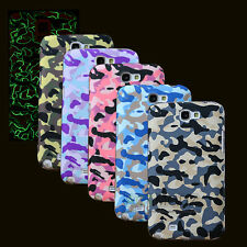Glow In Dark Camouflage Hard Back Case Cover For Samsung Galaxy S4 / S5 Note2/3