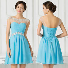 SEMI FORMAL Short Mini Prom Party Homecoming DRESS Evening Gown Bridesmaid Dress