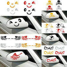 Design 3D Decoration Sticker For Car Side Mirror Rearview Free Shipping #e