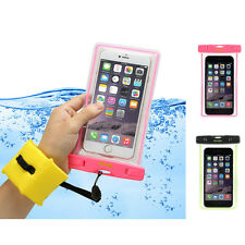 Universal Waterproof Pouch Case+Floating Strap For iPhone Cell Phone SmartPhone