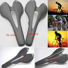 Full Carbon Road MTB Fixed Gear Bike Bicycle Hollow Out Saddle Seat Cushion Pad