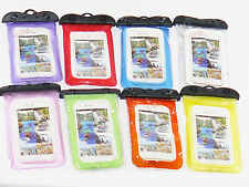 Universal Cell Phone Waterproof Pouch With Neck Strap & detachable Clip