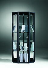 Living & Dining Room Space Corner Glass Display Cabinet with Internal Light