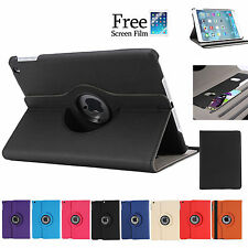 360 Rotating ID Wallet Smart Cover Case for Apple iPad Air iPad mini 3 2 1