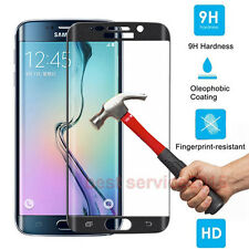 Full Cover Curved Tempered glass Screen Protector for Samsung Galaxy S6 Edge New