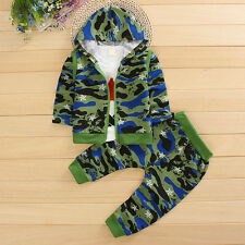 3PC Boys Clothes Boy Outfit Kids Outfits Baby Long Sleeve T-shirt + Vest + Pants