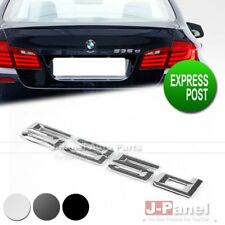535d REAR TRUNK LETTER EMBLEM BADGE for BMW 5 SERIES E34 E60 E61 F10 F11 CAR USE