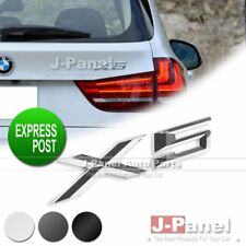 X5 LETTER REAR BADGE EMBLEM for BMW E53 E70 CAR EXTERIOR 3 COLORS CHROME BLACK