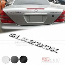 SLK230K REAR TRUNK LETTER EMBLEM for MERCEDES BENZ SLK CLASS R170 AMG 3 COLORS