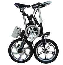 KwikFold Aluminium cycling folding bicycle and electric bike new with Battery