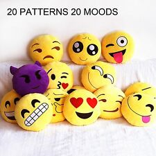 Emoji Stuffed Cushion Smiley Emoticon Plush Toy Doll Girl Kids Sofa Couch Pillow