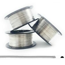 Sterling Silver Wire 925 Half Round, Half Hard, 18 20 21 22 24 Gauge in Feet