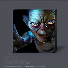 HOBBIT SMEAGOL LORD OF THE RINGS AWESOME GIANT ICONIC CANVAS ART Art Williams