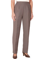 Ladies Pants Wool Touch Trouser