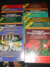 Advanced Dungeons And Dragons módulos