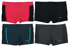 Nike Womens Tempo Running Boy Shorts Black/Gray/Pink/Teal Multiple Sizes New
