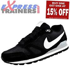 Nike Mens Air Waffle Leather Retro Running Shoes Black *AUTHENTIC*