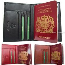 Passport & Cards Holder Wallet Real Leather Soft Visconti New in Gift Box 2201