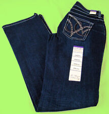 Womens Wrangler 2nds Q Baby Booty Up Mid Rise Boot Cut WRQ25ST Jeans Any Size