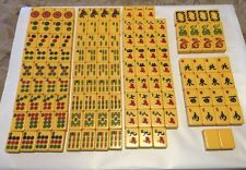 Vintage Royal Depth Control Mah Jong Replacement Tiles Butterscotch Catalin