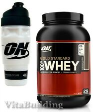 Optimum Nutrition, 100% Whey Gold Standard Protein, 2 Lb Free Shaker free ship
